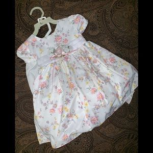 MELODY KIDS Gown Dress Floral Special Occasion